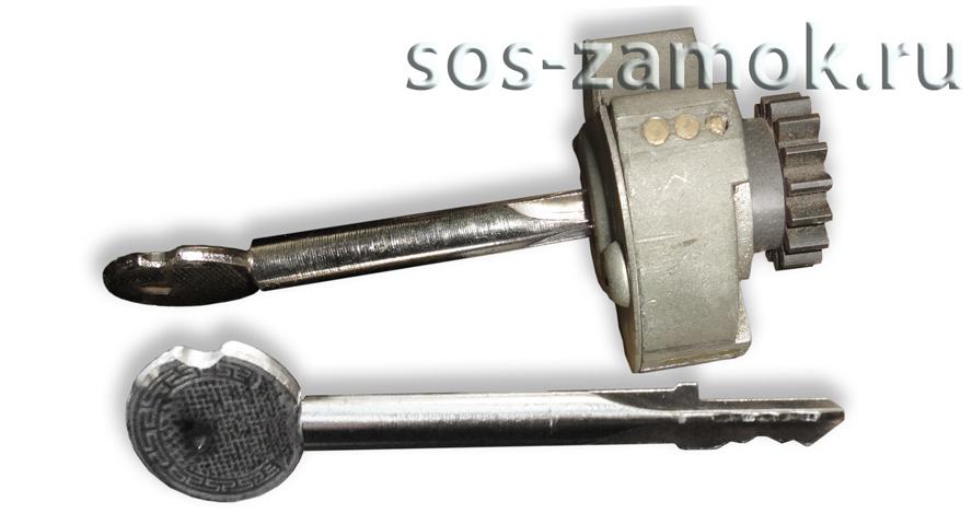 Механизм замка киров