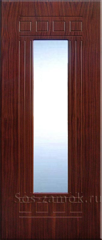 Дверная панель с зеркалом