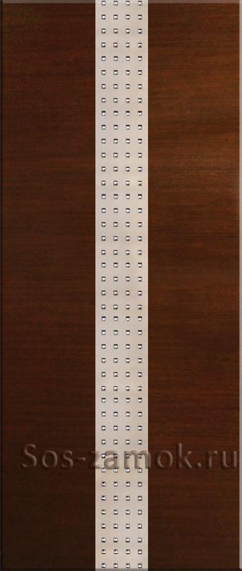 Шпонированная накладка c декоративной вставкой