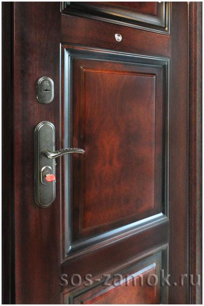 Китайская металлическая дверь