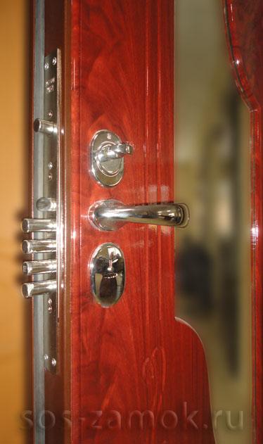 Установка МДФ панелей на двери СТАЛ