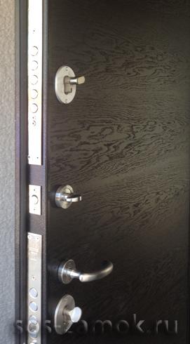 Замена МДФ панелей на двери СТАЛ
