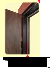 внутренний контур уплотнителя двери