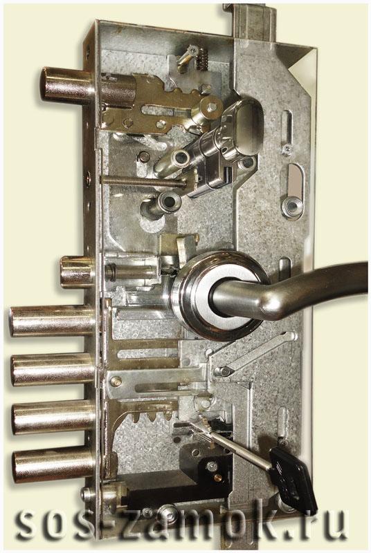 Механизм замка
