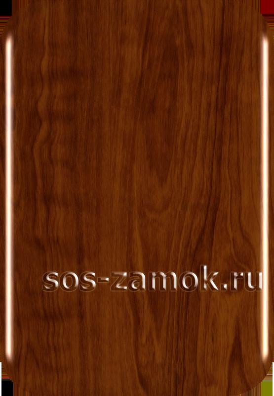 накладка на дверь кедр глянцевая