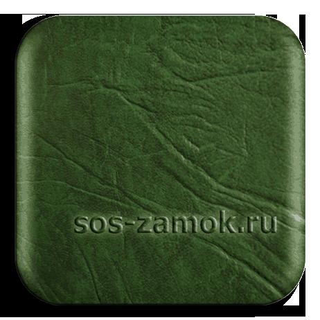 зеленая искусственная кожа