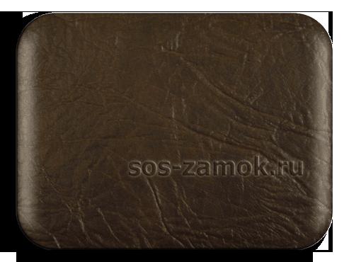 Пример тёмно коричневого кожзама