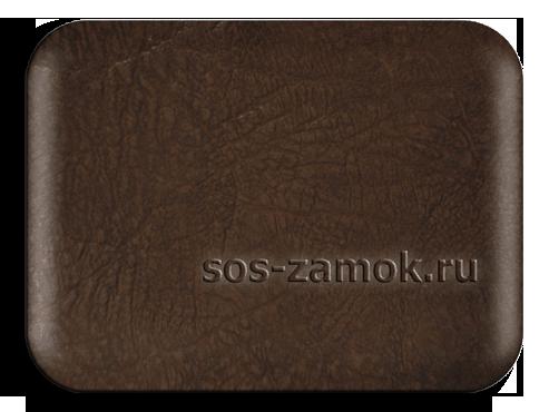 Обить дверь дермантином коричнево темного цвета