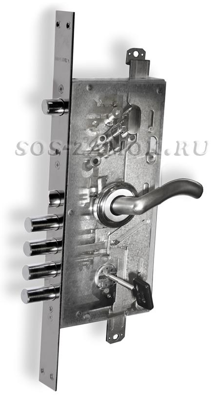 Ремонт замка в металлической двери