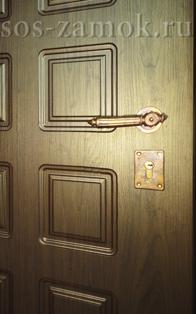 Ремонт МДФ панелей на металлических дверях