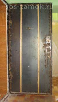 Реставрация металлической двери